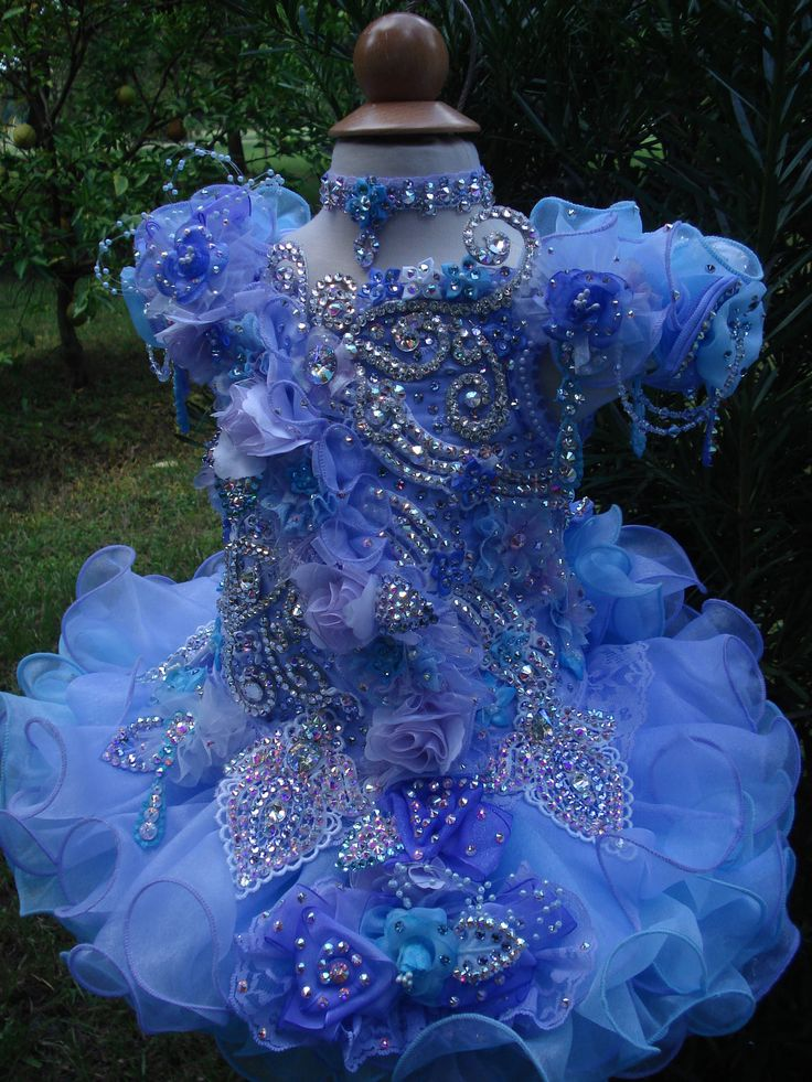 glitz pageant dresses - Google Search
