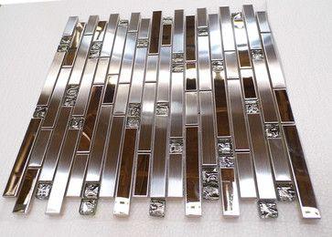 stainless steel mosaic backsplash tile stain less tiles kitchen tile bathroom mosaic tile