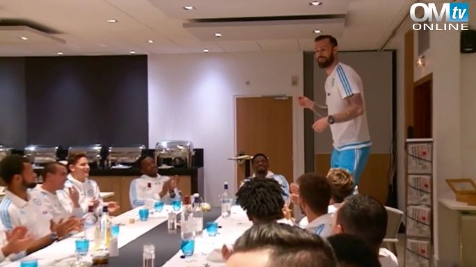 Steven Fletcher sang the Fresh Prince theme song for his Marseille initiation (Video)