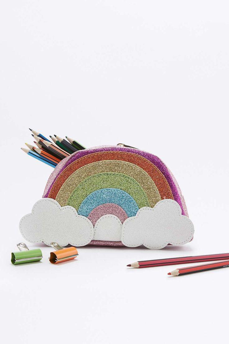 Skinnydip Rainbow Pencil Case