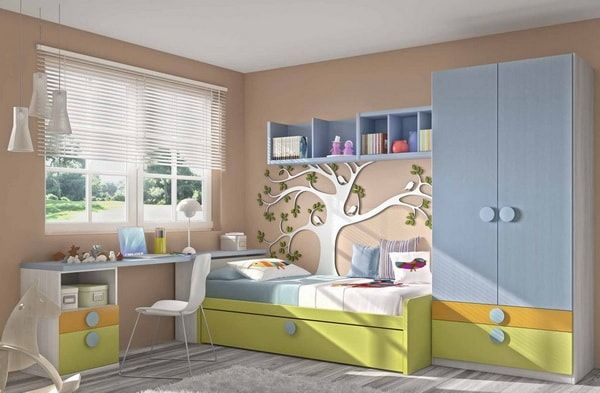 Muebles para dormitorios juveniles modernos. Decoración de dormitorios juveniles. Ideas para dormitorios de adolescentes. #dormitoriosinfantiles #dormitoriosjuveniles #decoracioninfantil