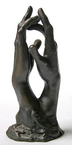 Study for The Secret Clasping Hands by Auguste Rodin 6H - Museumize  - 1