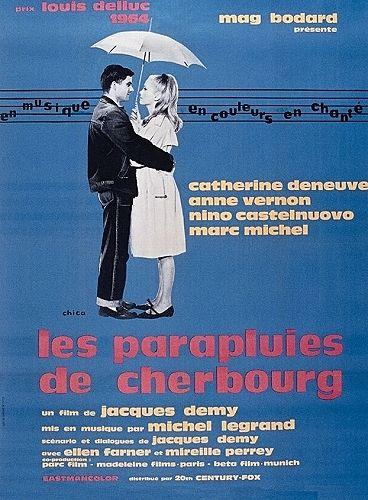 フランス映画《シェルブールの雨傘》パステルな淡い色彩感に酔いしれたい|MERY [メリー]