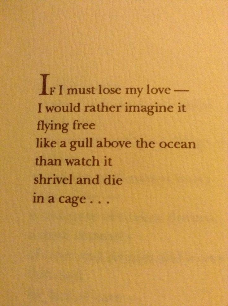 If I must lose my love... ~ The Thoughts of Nanushka