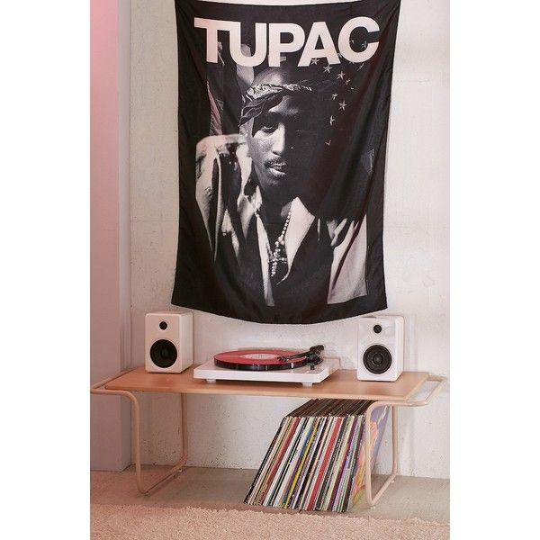 2Pac Poster Tapestry (1,225 INR) ❤ liked on Polyvore featuring home, home decor, wall art, tapestry wall art, urban outfitters wall art and urban outfitters