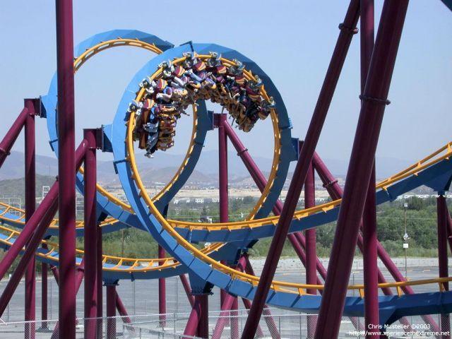 Six Flags Magic Mountain Rides | Images Six Flags Magic Mountain, California Scream Ride 510