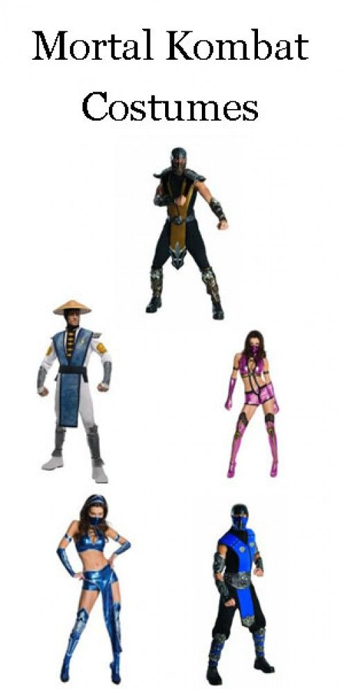 Mortal Kombat Costumes and other costume ideas that start with the letter M