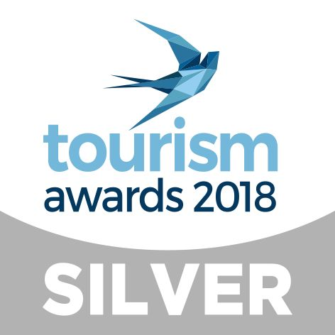 """We are proudly announcing that Out of the Blue, Capsis Elite Resort has won the """" Health & Wellness Tourism """" category award at the Greek Tourism Awards 2018."""
