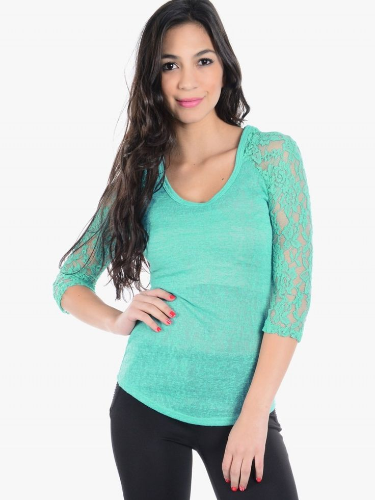 Amazing Lace Tops with Sleeves