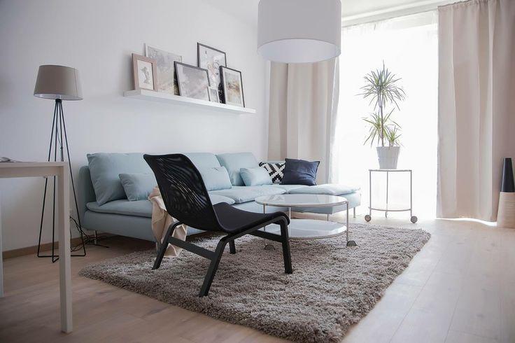model apartment-small livingroom