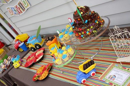 truck birthday party
