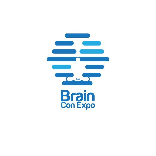 State-of-the-art logo for state-of-the-art nonprofit! Help revolutionize Brain Con Expo 🌟 Design by abassiofon