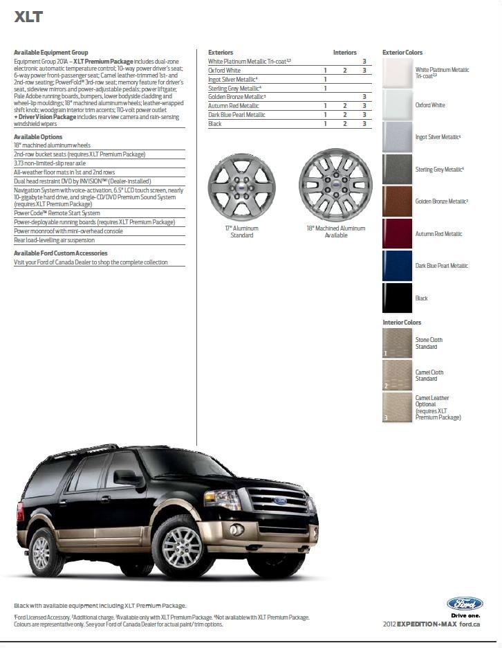17 best images about 2012 ford expedition  u0026 max brochure on pinterest