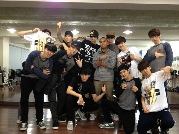 EXO's pre-debut group photo resurfaces online, making fans go 'Awww'   allkpop.com