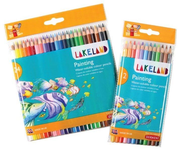 Derwent Lakeland Water colour Pencil 24 Asst