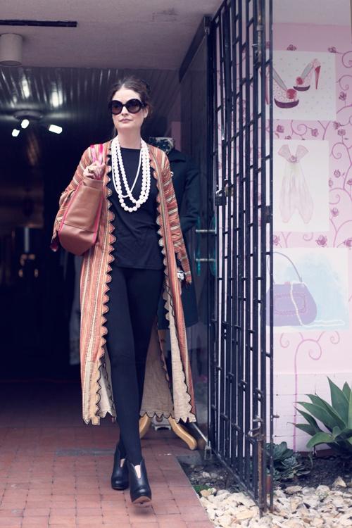 The Vintage Shop _ Una de las premisas de Chanel alentaba a las mujeres a ser dos cosas: classy y fabulosa.