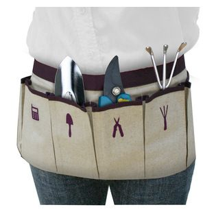 Great Useful Stuff - Gardening Apron - Inspired by a chef's apron and handyman's belt but designed exclusively for the stylish gardener, thi...