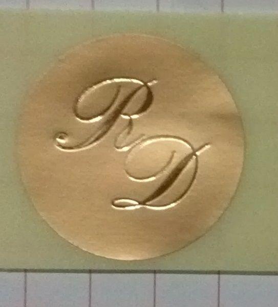 200 SIGILLI INIZIALI MONOGRAMMI PER PARTECIPAZIONI MATRIMONIO NOZZE B66 ORO/oro http://stores.shop.ebay.it/ARES-di-Fortunato-Giuseppe