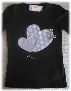 Camisetas personalizadas - lazos de tul