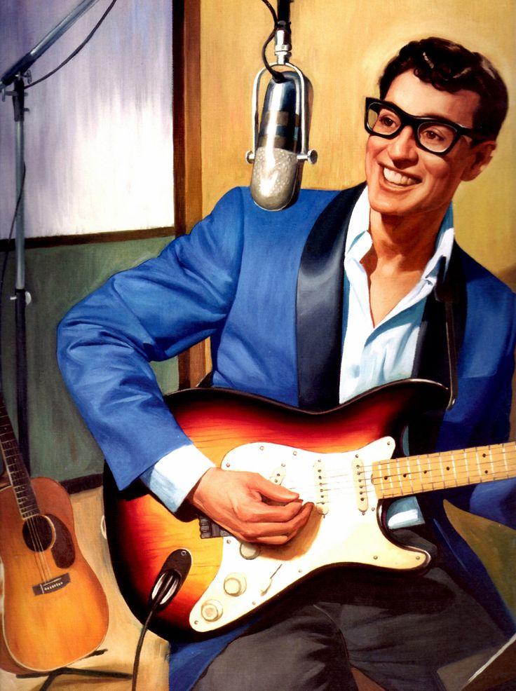 Lyric everyday lyrics buddy holly : 167 best Buddy Holly images on Pinterest | Buddy holly, Rock n ...