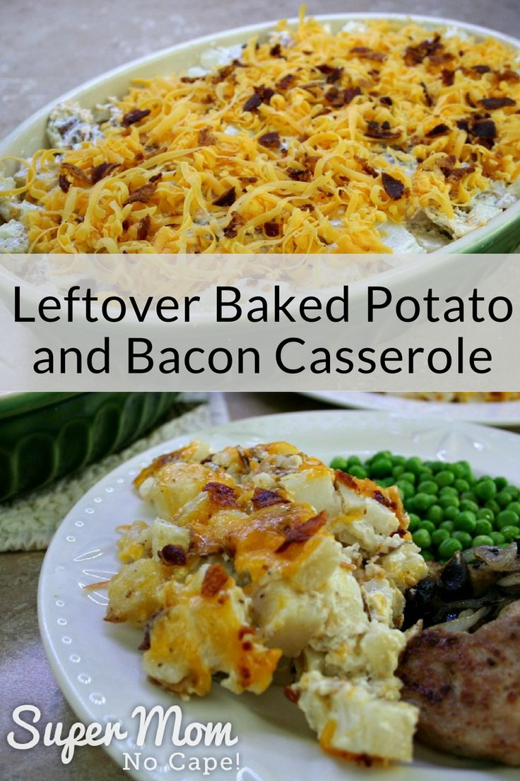 Wondering what to do with those leftover baked potatoes? This casserole is the perfect comfort food. The addition of bacon and cheddar cheese take it over the top. #casserole #leftovers #potatoes #bacon #cheese #potatorecipes #bakedpotatorecipes #baconrecipes #recipes #comfortfood  via @susanflemming