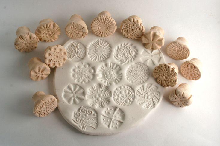 Texture Stamp RANDOM Variety Pack Clay Tools Set of von GiselleNo5