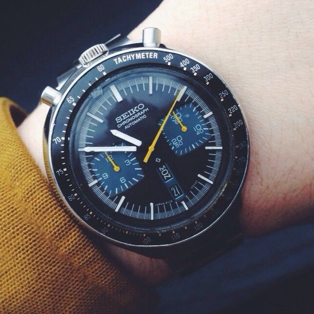 Wornandwound Man I Love This Watch Seiko 6138 0040 Bullhead Womw Wornandwound Watch