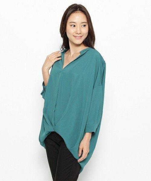 【ZOZOTOWN】HusHusH(ハッシュアッシュ)のシャツ/ブラウス「ジョーゼットスキッパーシャツ」(511-89030-2016-02)をセール価格で購入できます。