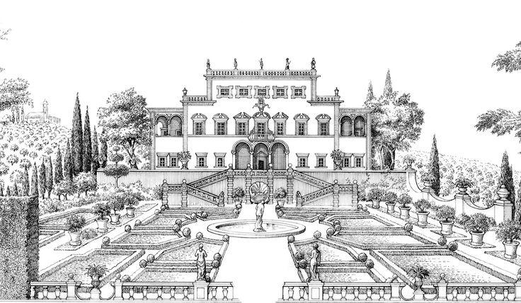 1740 In questi anni Niccolò Antinori acquista una tenuta vicino a Firenze che chiama Villa Antinori.