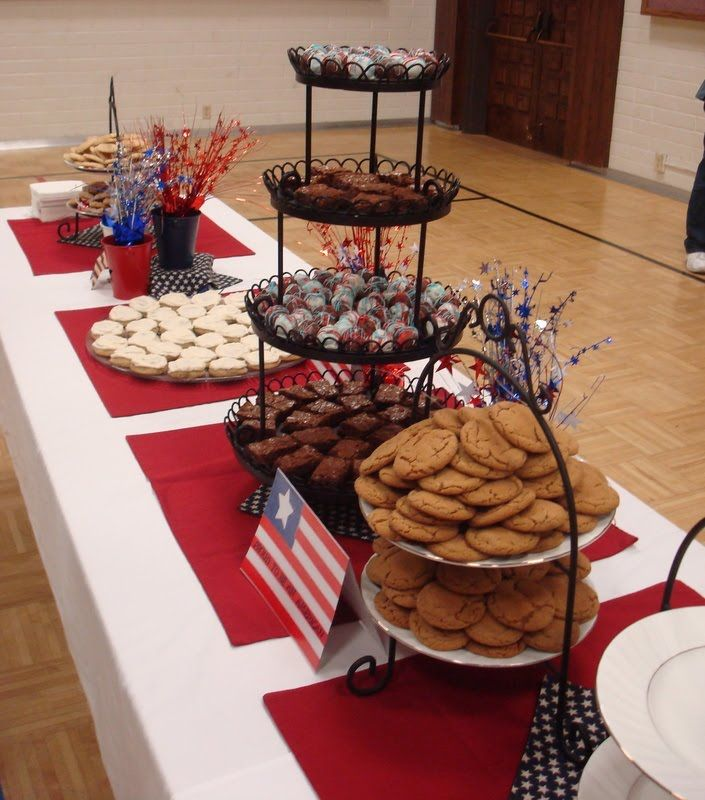 Court of Honor Table Decorations | Manning Family Tree: We have an Eagle Scout in the family!