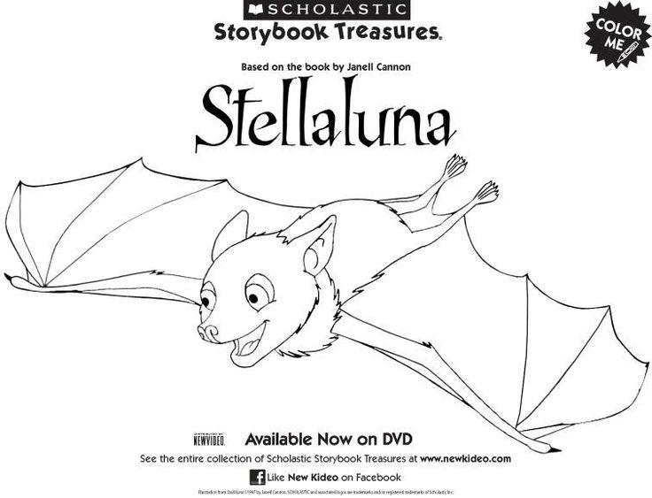 Stella Luna coloring page PreK