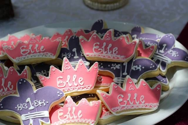Cookies from a princess party #princess #partycookies