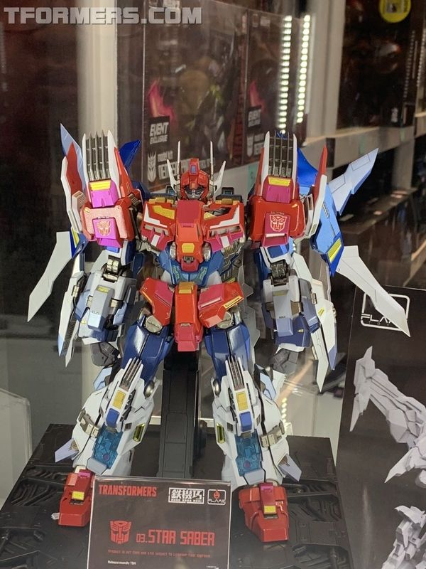 Nycc 2018 Flame Toys Bumblebee Star Saber Victory Leo More