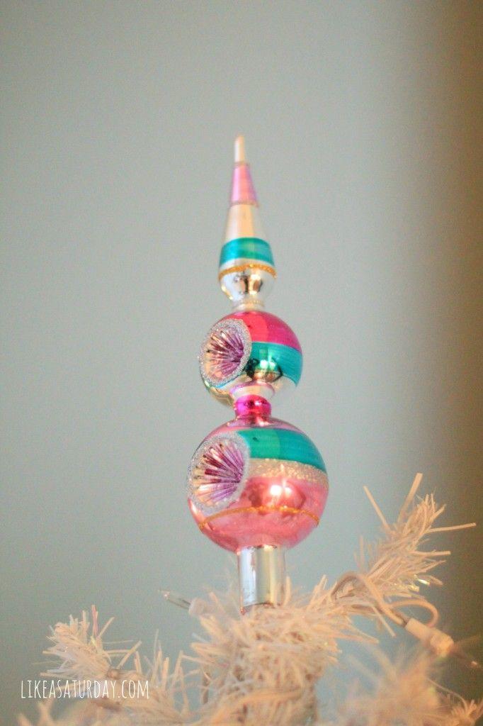Retro Christmas Tree Toppers