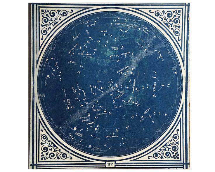 astronomy star charts - 736×591