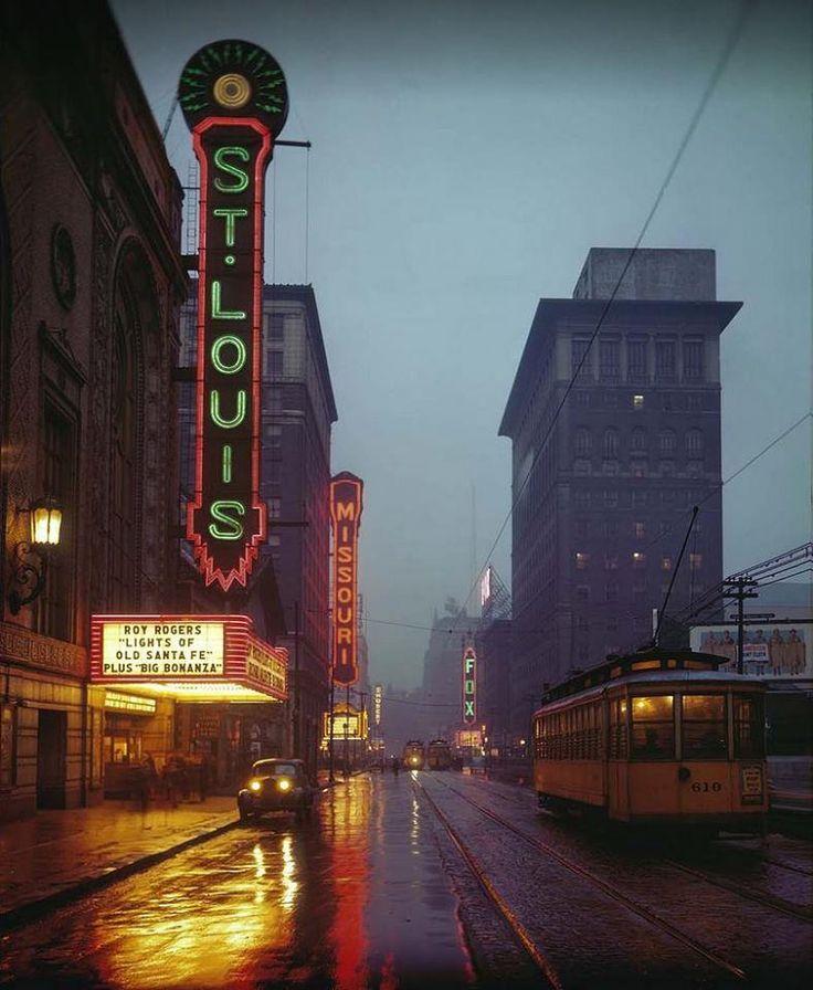 Grand Avenue, St. Louis, Missouri (1944)