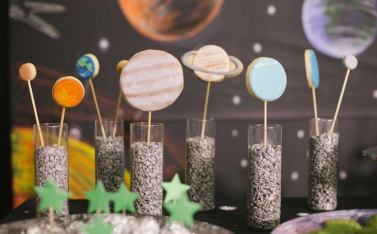 O clima espacial tomou conta do aniversário de 7 anos do Luar
