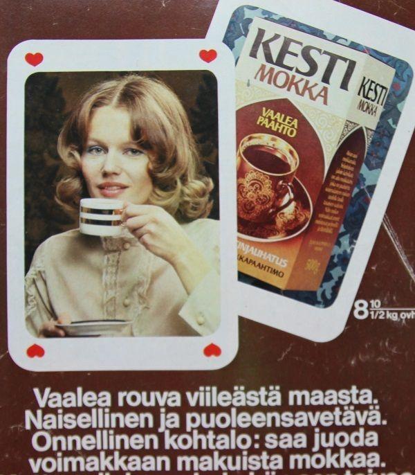 Kesti Mokkat, mainos 70-luvulta