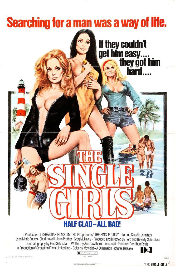 The Single Girls (aka Private School) (1974, USA) / exploitation slasher thriller poster art