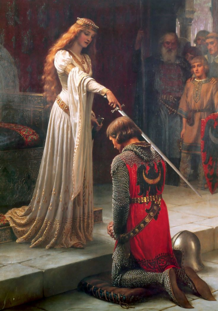 One of the greatest figures in the promotion of the chivalric ideal was Eleanor of Aquitaine. Eleanor's interest in the poetry of courtly love and its ideals was shared by her daughters. To encourage the development of chivalry and courtly love, Eleanor became a patroness of the bourgeoning art of courtly love, and she offered financial support to troubadours who visited her court and celebrated these ideals.