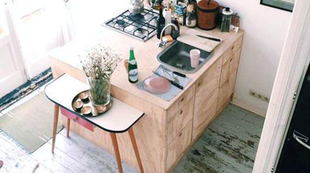 Ilot de cuisine id es d co et astuces pour l 39 adopter for Mini ilot central