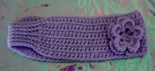 Easy Crochet Headband Earwarmer, free pattern . . .  ღTrish W ~ http://www.pinterest.com/trishw/  . . .