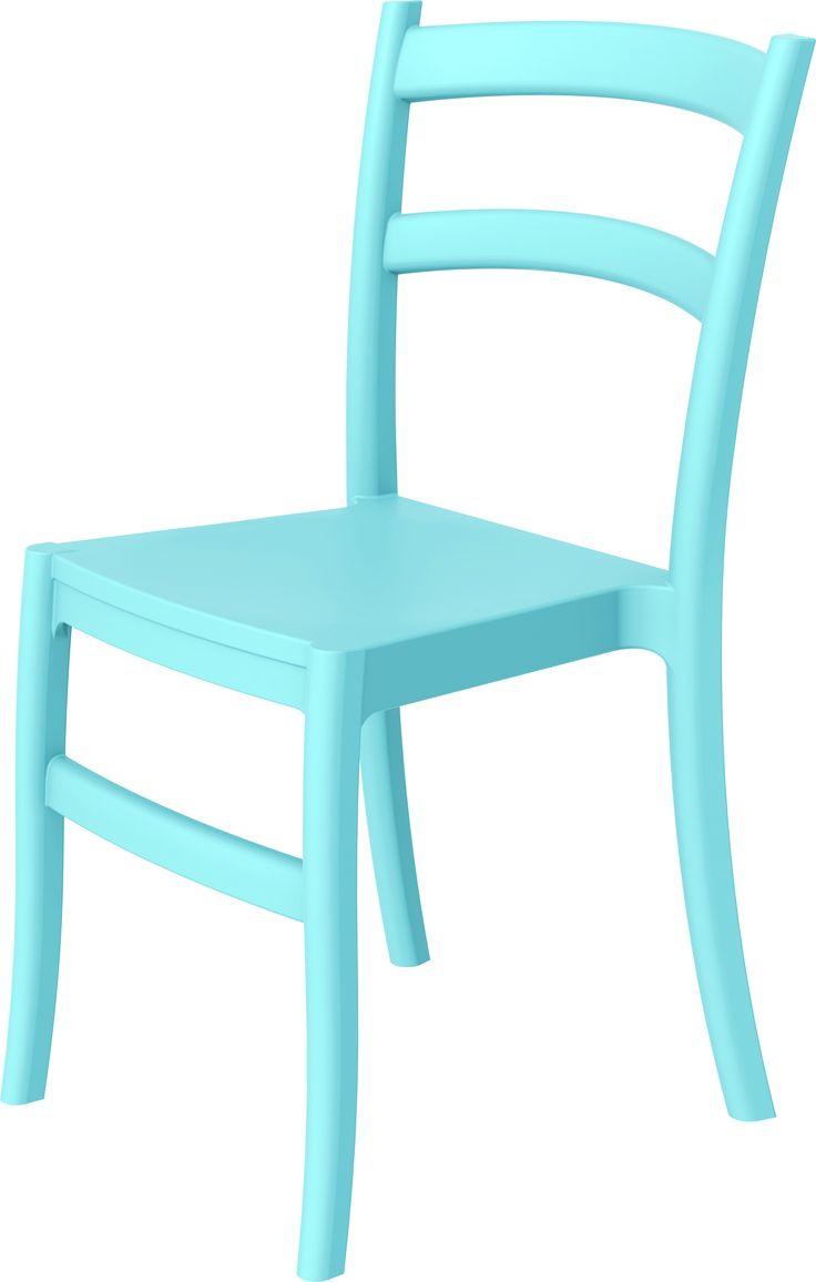 Eetkamerstoel Tiffany Blauw http://www.designmeubelzaak.nl/eetkamerstoel-tiffany-blauw.html