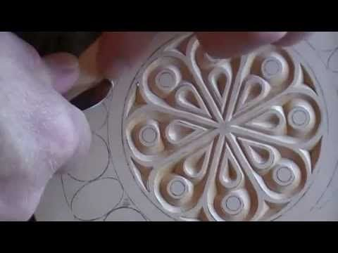 Chip Carving a Hand Mirror