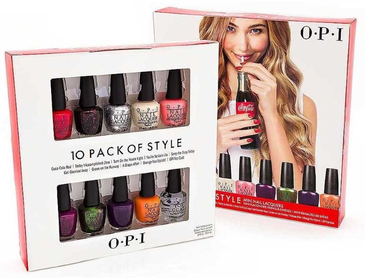 OPI Mini Nail Lacquers Giveaway