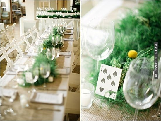 playing cards for table numbers | CHECK OUT MORE IDEAS AT WEDDINGPINS.NET | #weddings #weddingseating #weddingdecoration
