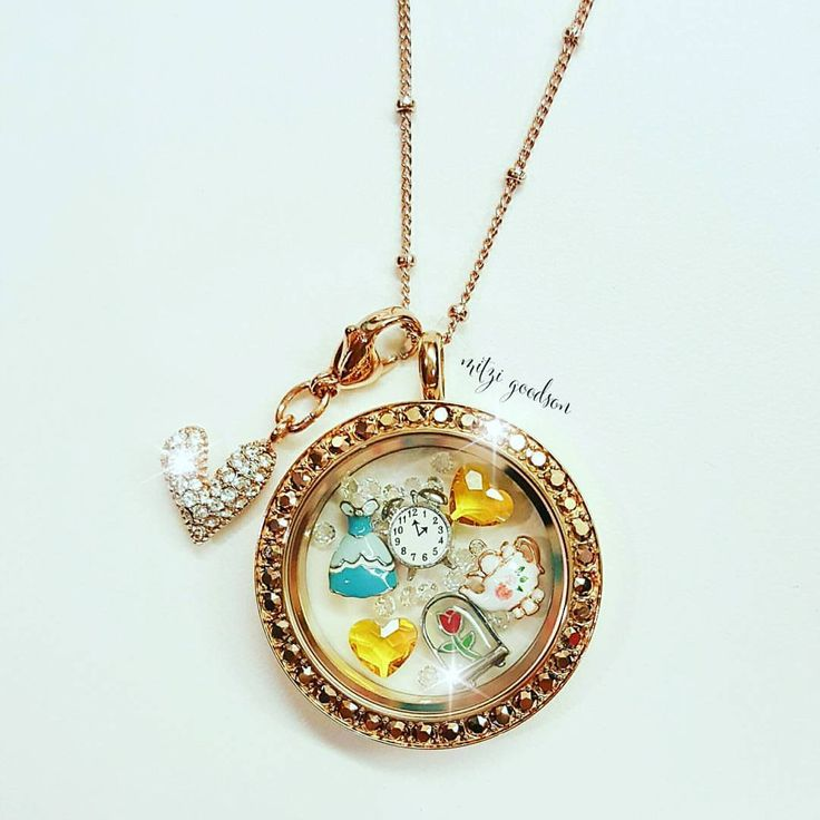 Origami Owl. Beauty and the Beast Locket. https://charminglocketsbyaline.origamiowl.com