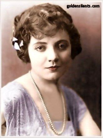 Silent film actress Lois Wilson - goldensilents.com