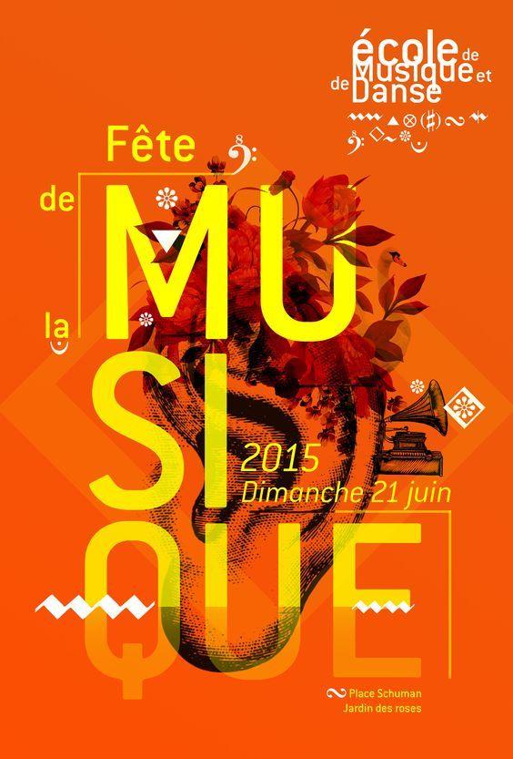 Fete de la Musique 2015 par Samantha Paul #juincreatif #fdlm