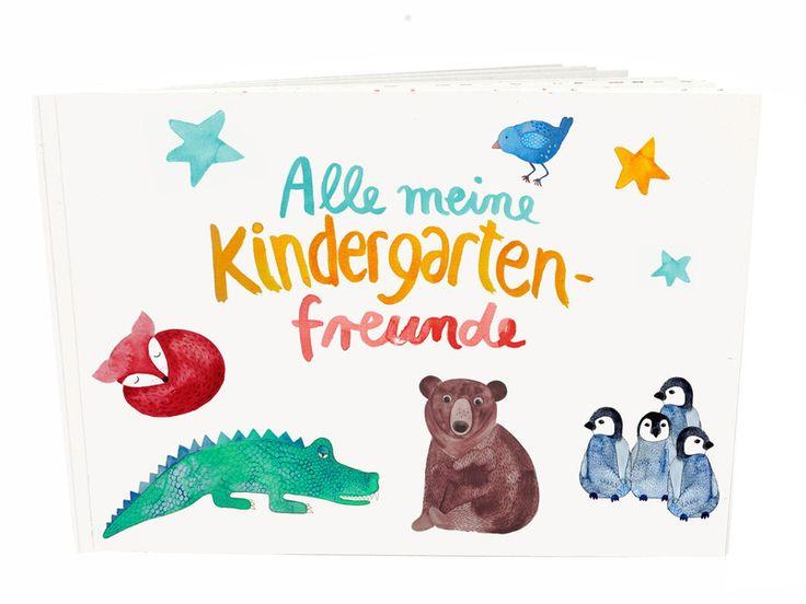 Weiteres - Kindergarten-Freundebuch - ein Designerstück von Frau-Ottilie bei DaWanda